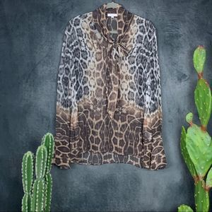 🆕Equipment Femme Jacqueleen Silk Tie Blouse  A437